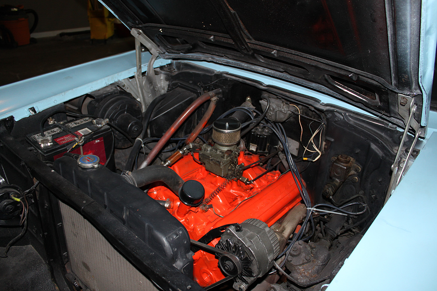 Stock 57 V8 Engine Bay Picture Needed Page 4 Trifive